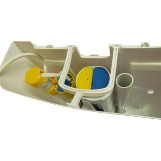Úsporný WC splachovač s umyvadlem AQUAdue GrandesYs obr.5