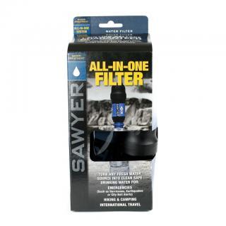 Cestovní vodní filtr SAWYER SP181 All In One Filter obr.1