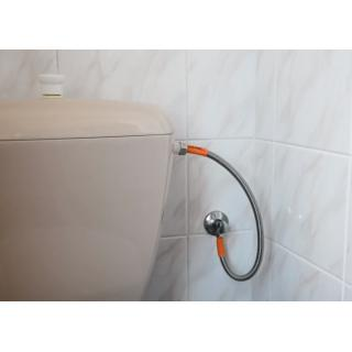 "Nerezová flexi hadice k WC MERABELL Aqua G3/8"" – G1/2"" 50 cm obr.3"