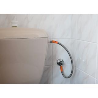 "Nerezová flexi hadice k WC MERABELL Aqua G3/8"" – G1/2"" 80cm obr.3"