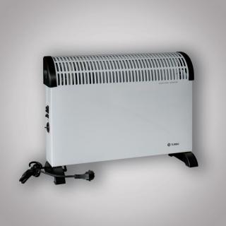 Přenosný elektrický konvektor CH 2000B Turbo 750/1250/2000 W